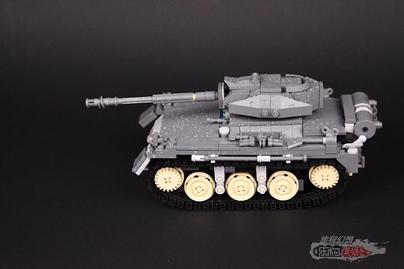 旅程幻想9号MOC作品《印象中的坦克》