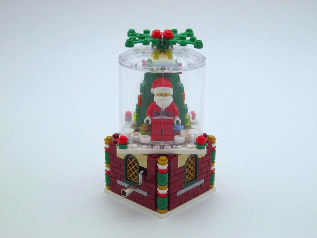 【丹之岚MOC】乐高圣诞八音盒摆饰