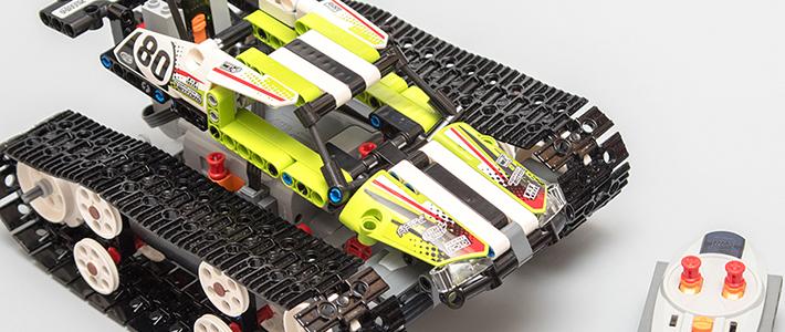 买电机送套装——LEGO 乐高 科技系列 42065 遥控履带赛车(RC Tracked Racer)