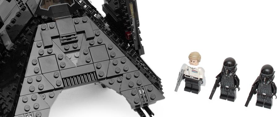 白衣野心家和他的黑色座驾:乐高星球大战 75156 克伦尼克的帝国穿梭机