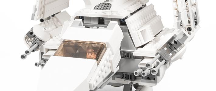 黯之纯白:星球大战系列75094 帝国穿梭机泰迪尔矿号