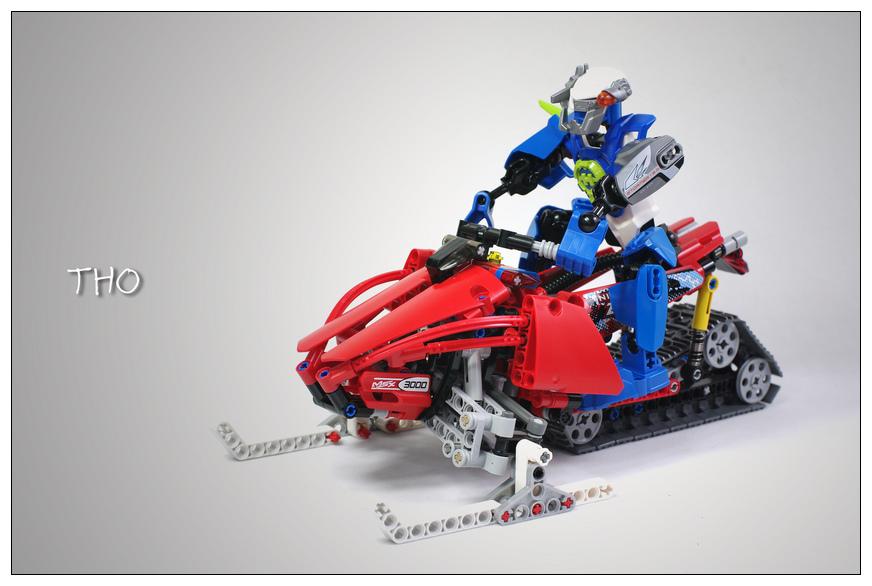 【THO】将山寨进行到底之 8272 雪地摩托车 Snowmobile