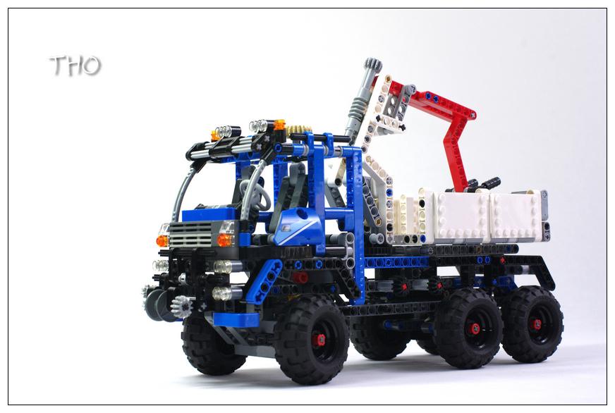 【THO】将山寨进行到底之 8273 Off Road Truck