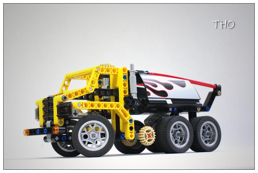 【THO】将山寨进行到底之 8415 Dump Truck
