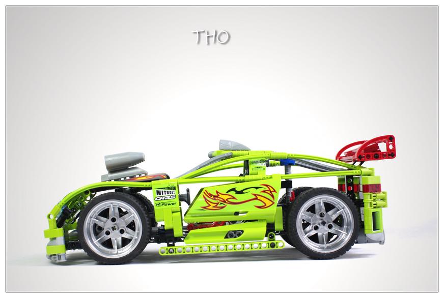 【THO品鉴】lego 乐高 跑车系列 8649 Nitro Menace品鉴