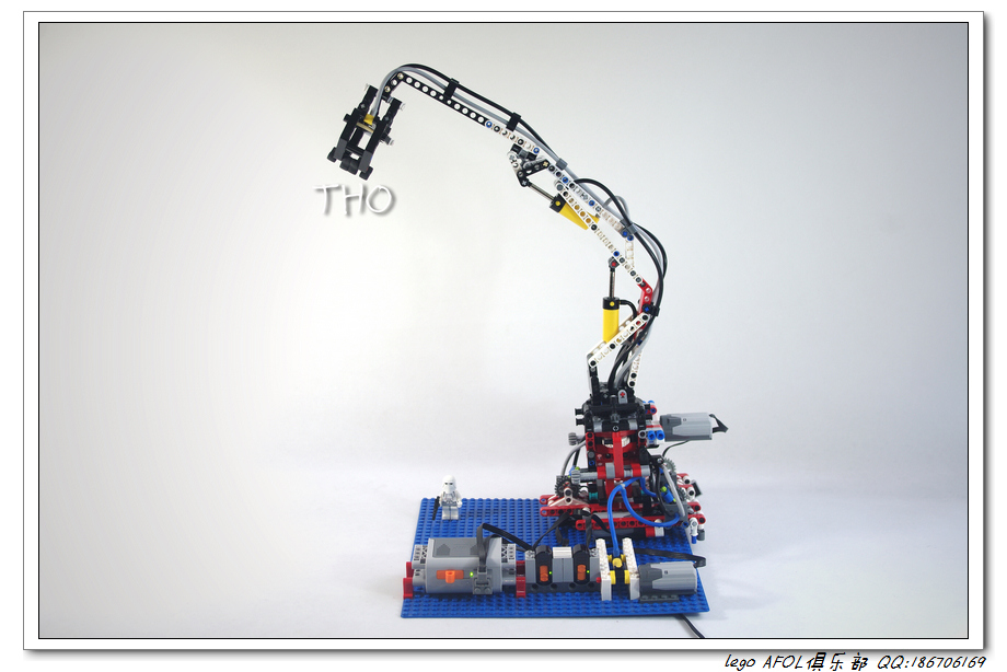 【THO MOC】8110气动臂的遥控化改造