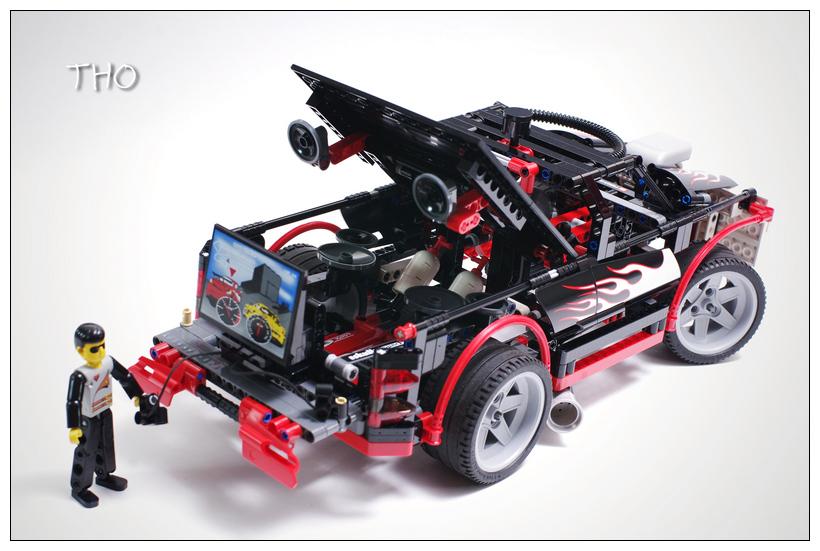 【THO品鉴】lego 乐高 8682 Nitro Intimidator 评鉴