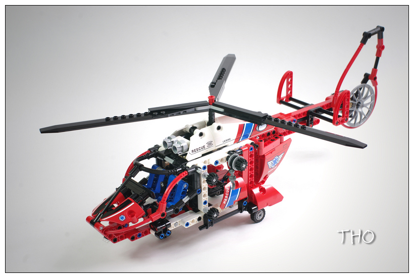 【THO品鉴】lego 乐高 8068 Rescue Helicopter直升机评鉴