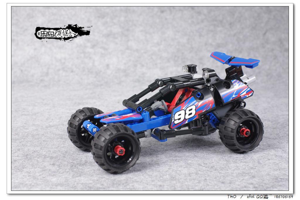 【THO品鉴】乐高 lego 42010 Off-road Racer 品鉴