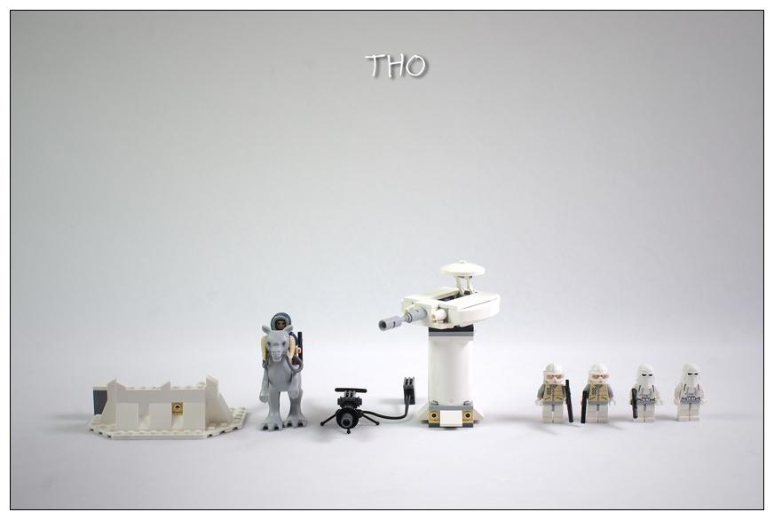 【THO品鉴】lego 乐高 星战7749 Echo Base 图赏
