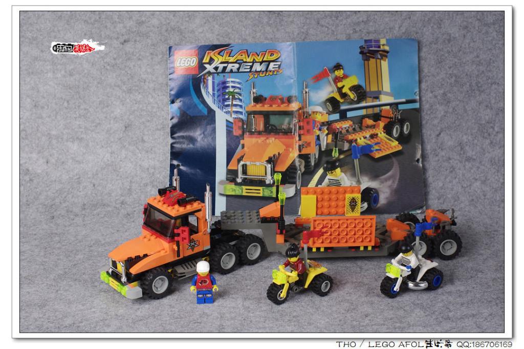 【THO品鉴】乐高 lego 6739 Truck & Stunt Trikes评鉴