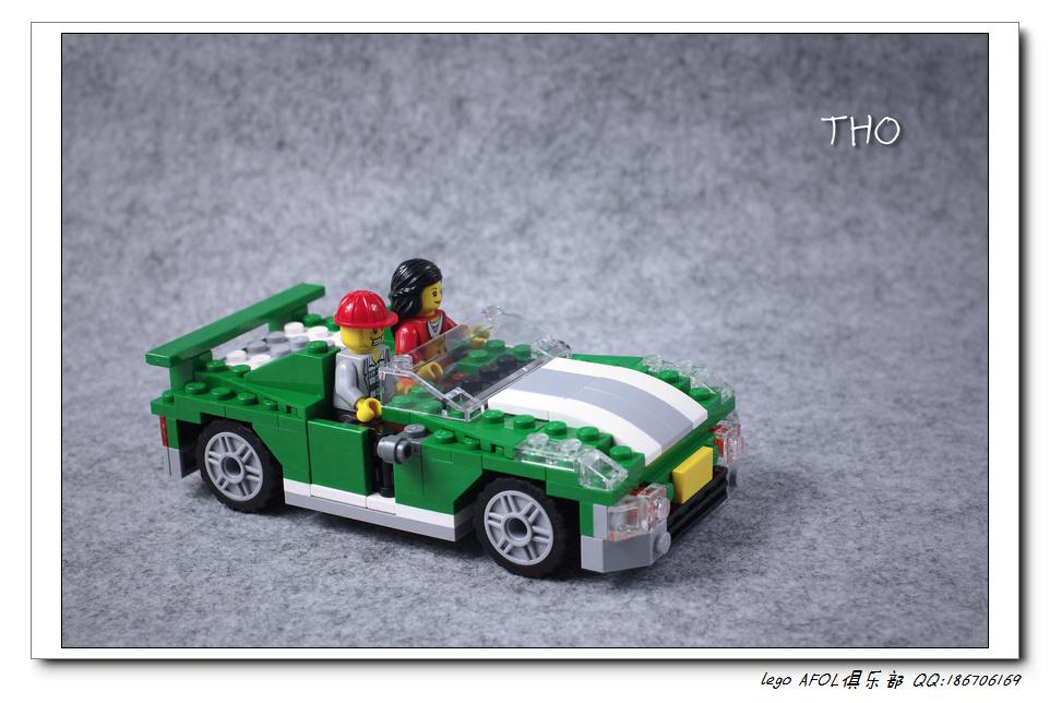 【THO品鉴】lego 乐高 6743 Street Speeder 图赏