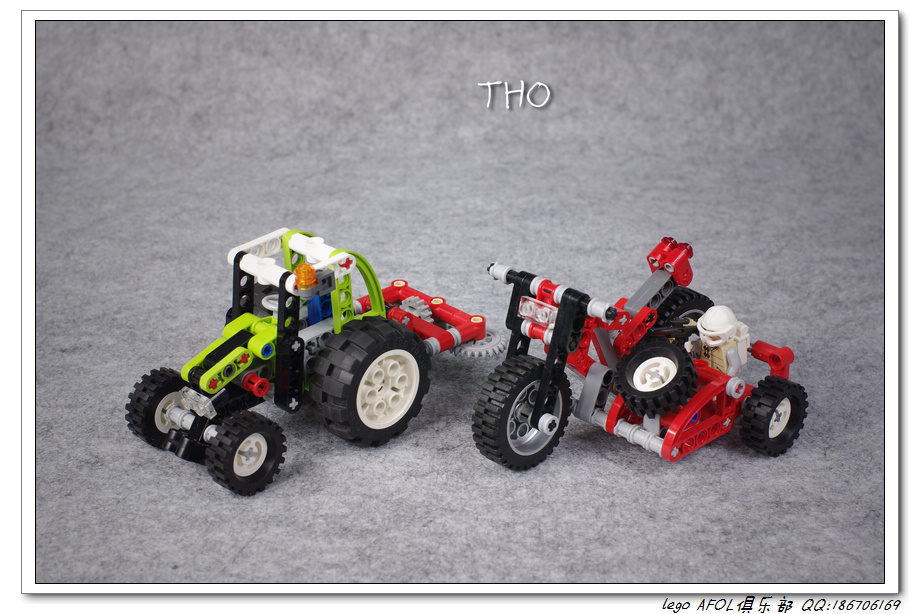 【THO】将山寨进行到底之 8281 Mini Tractor