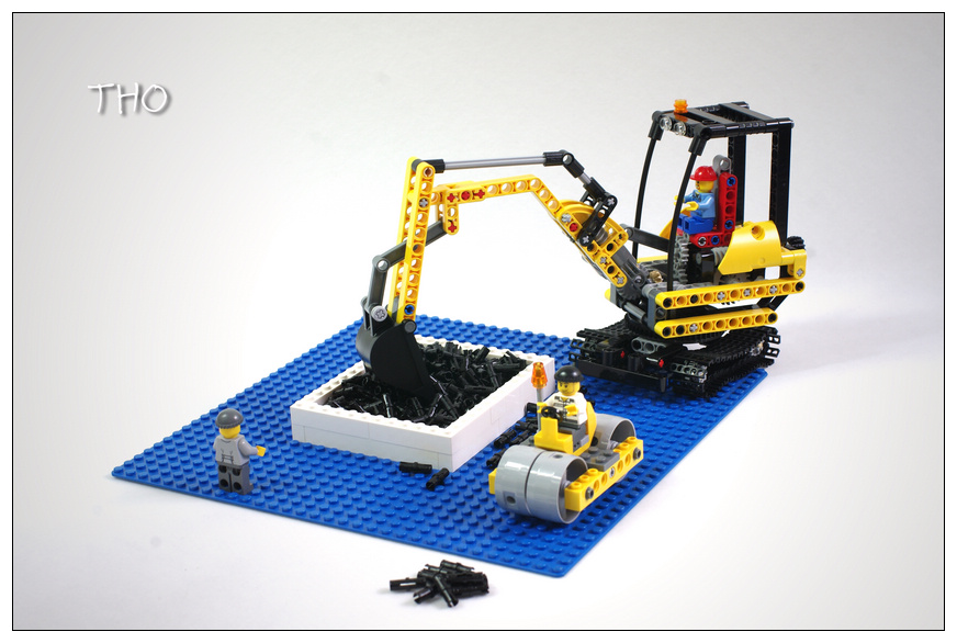 【THO品鉴】lego 乐高 8047 Compact Excavator 评鉴