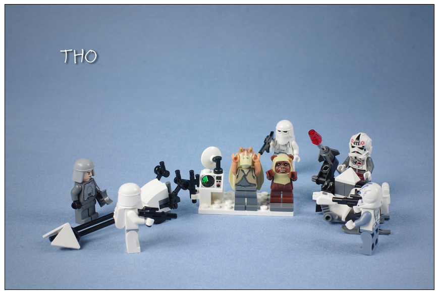 【THO品鉴】lego 乐高 8084 Snowtrooper Battle Park评鉴图赏