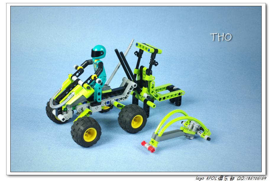 【THO】将山寨进行到底之 8240 Slammer Stunt Bike