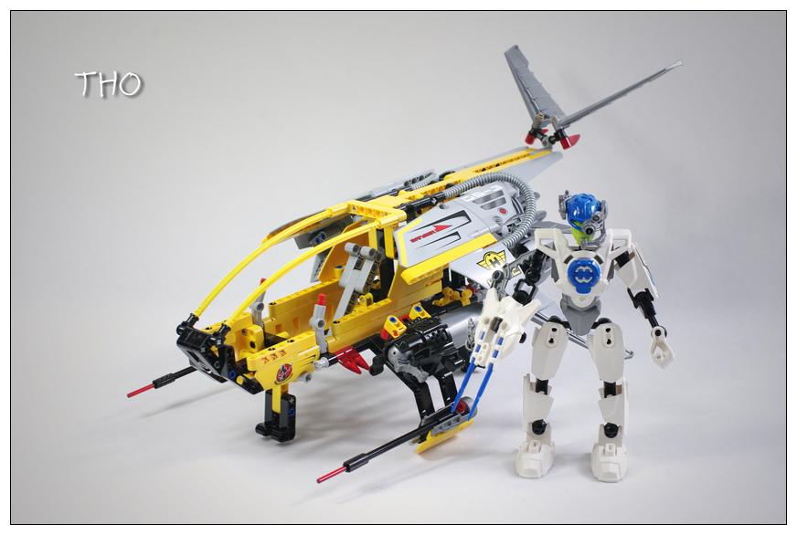 【THO品鉴】lego 乐高 7160 英雄空投船评鉴