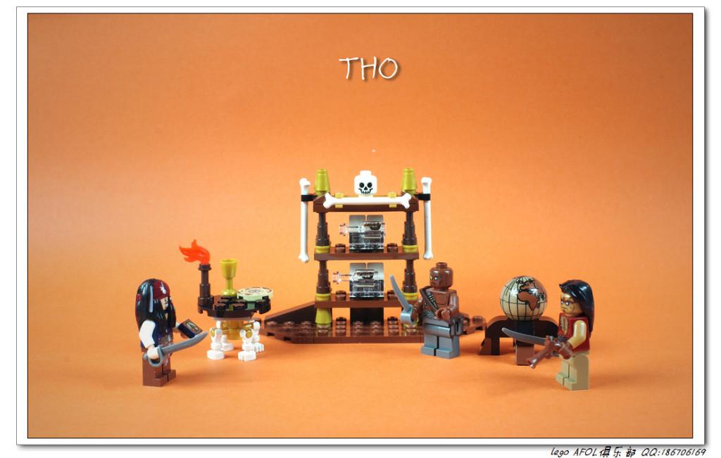 【THO品鉴】Lego 乐高 加勒比海盗 4191 船长的小屋