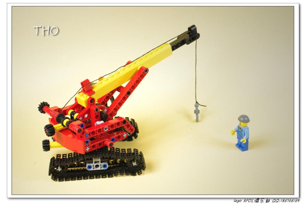 【THO】将山寨进行到底之9391 Mini Crane