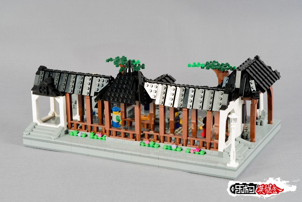 丨冰のmoc丨中式建筑初作:中国风:园一角