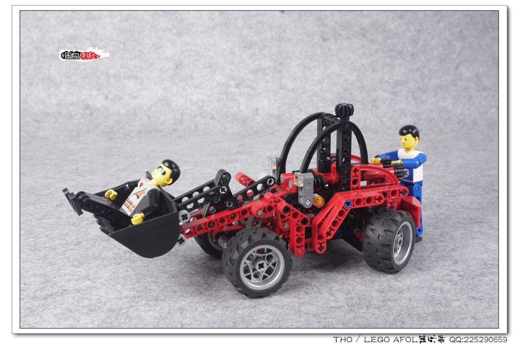 【THO】将山寨进行到底之 8271 Wheel Loader 和 8241 Battle Cars