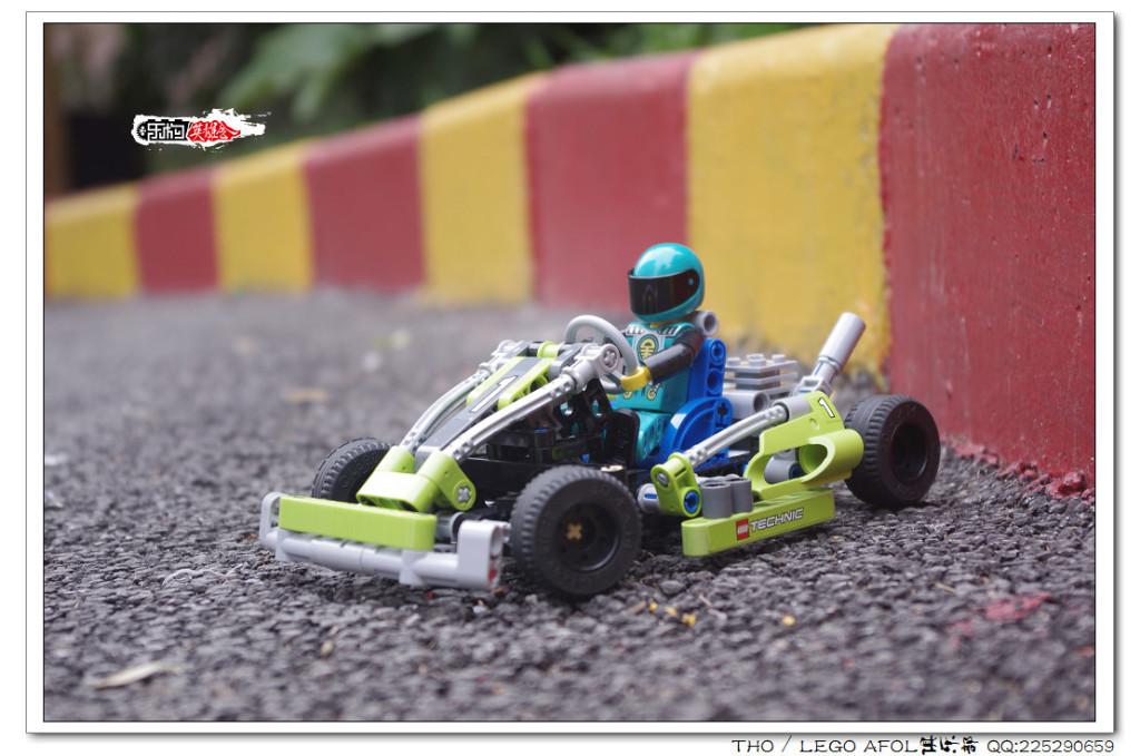 【THO品鉴】 lego 乐高 8256 Go-Kart