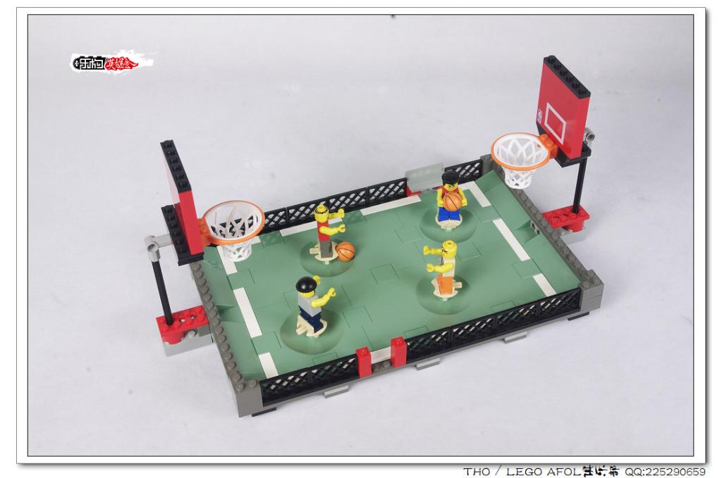 【THO】乐高 lego 3431 Street Ball 2 vs 2二对二篮球赛图赏