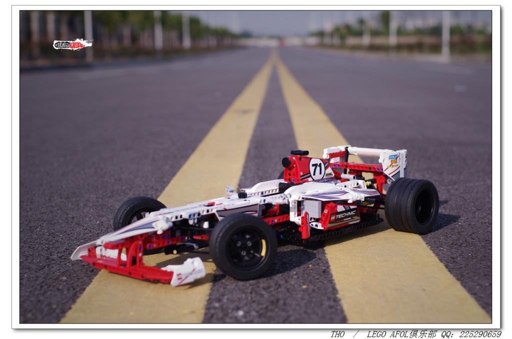 【THO品鉴】lego 42000 大奖赛赛车评鉴及与8674 F1比对