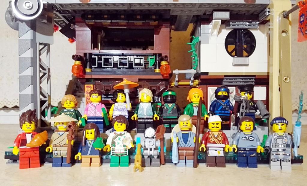 《乐高幻影忍者大电影》终极套装 LEGO 76020 幻影忍者城市评测