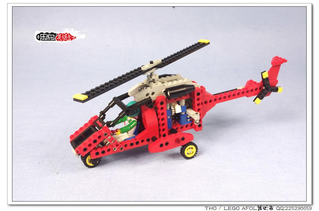 【THO评鉴】乐高 lego 8232 Chopper Force 直升机