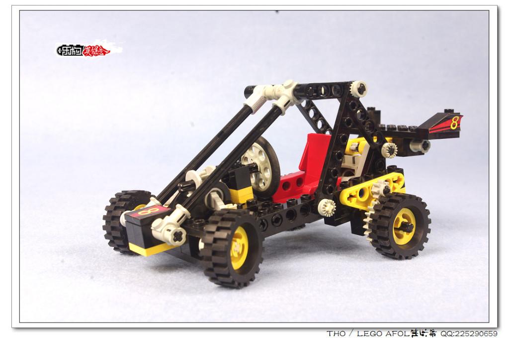 【THO品鉴】乐高 lego 8818 Dune Buggy