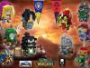 【橙子MOC】风暴英雄BrickHeadz-魔兽世界联盟部落5V5