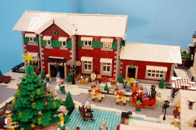 【GegoVs】冬季火车站&圣诞冬季小镇
