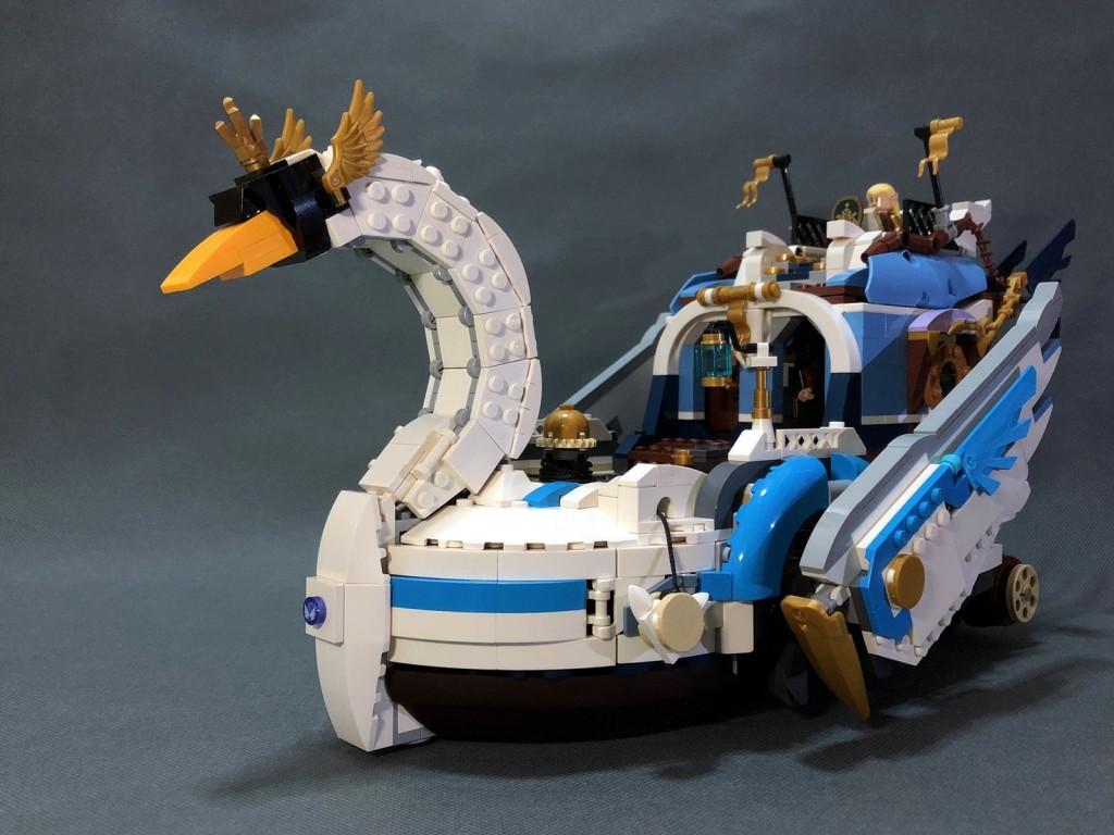 【翡翠之诗号】天鹅船