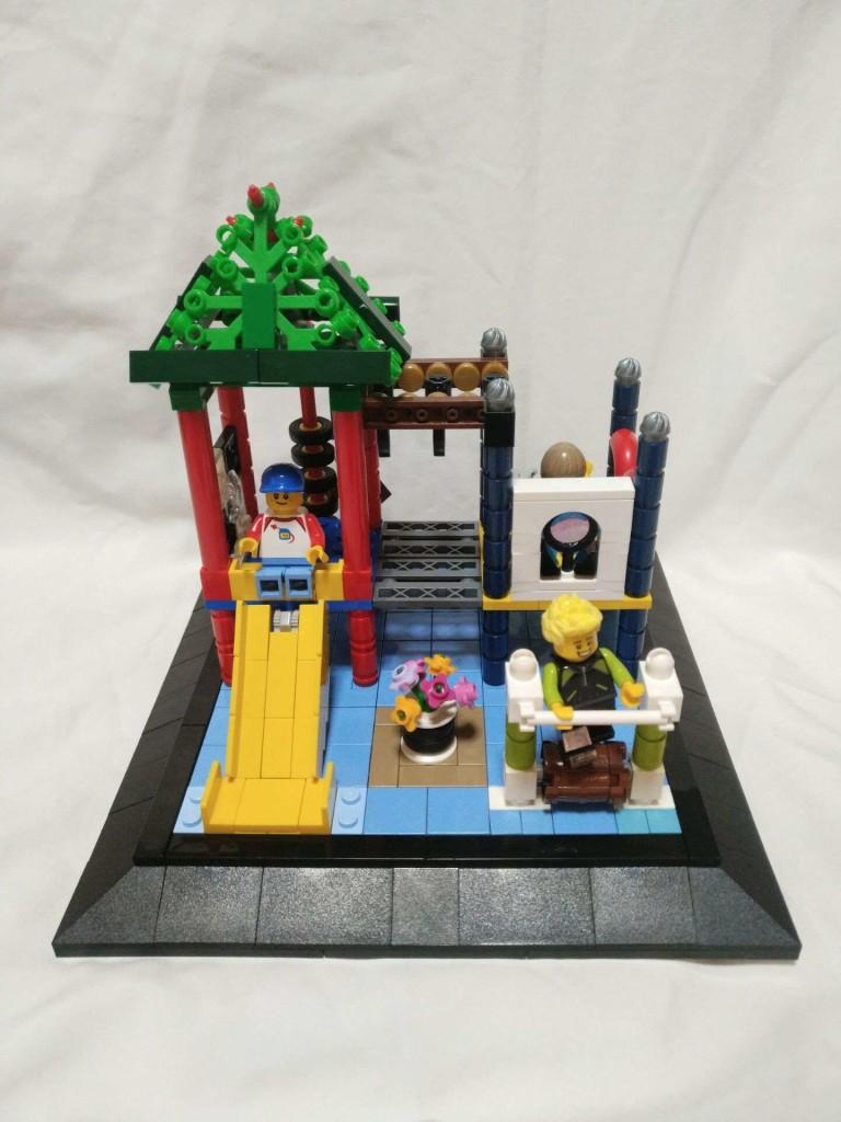 【波子的MOC】儿童乐园