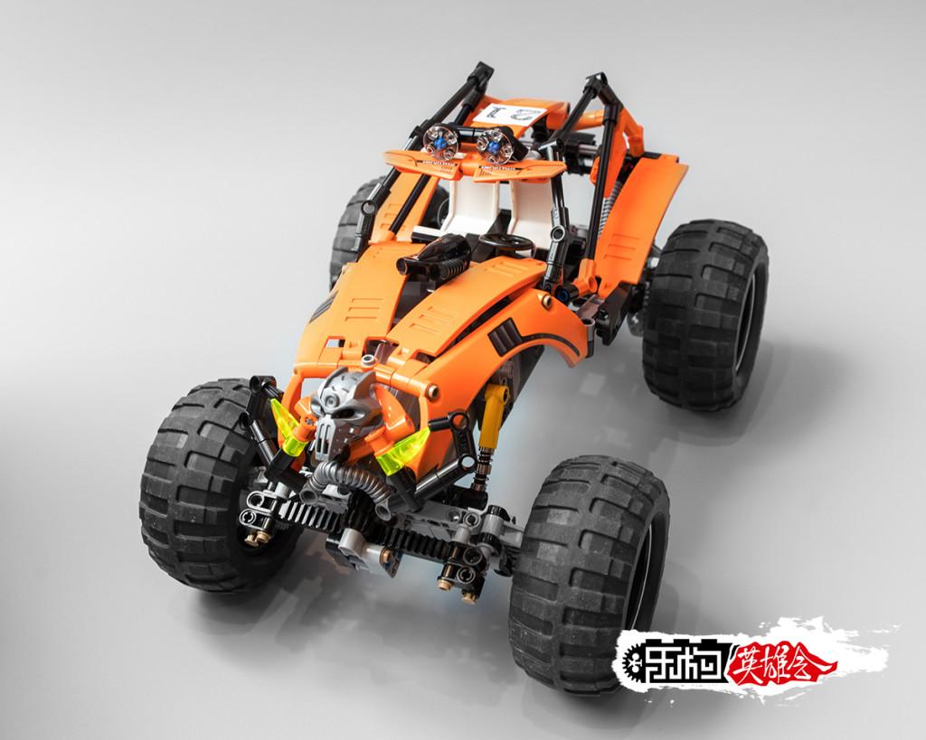 [G-MOC] lego 攀爬车 恶灵初醒