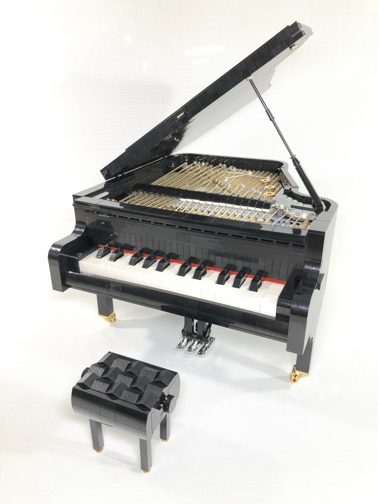 【SleepyCow MOC】Playable Lego Piano