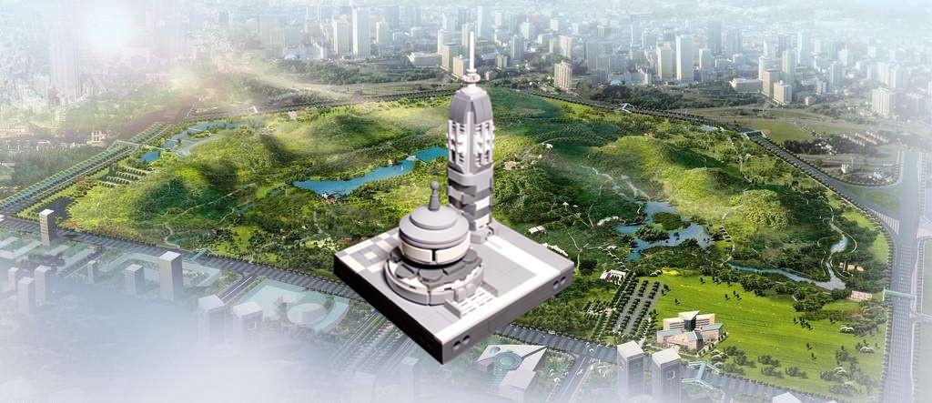 【榕榕的MOC】未来科技博物馆