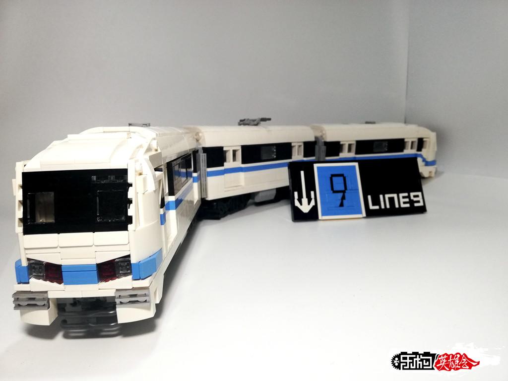 丨冰のmoc丨上海地铁九号线