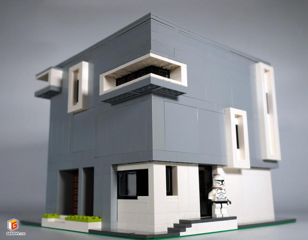 【GS的MOC】立体方块屋(Cube House)