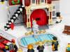 应景又好玩、非常热闹的圣诞套装:乐高创意百变系列 10263 冬季消防局