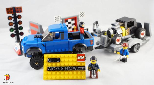 【GS品鉴】LEGO乐高SPEED系列75875--福特F-150猛禽和福特A型老爷车